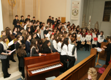 Chorale des grandes classes